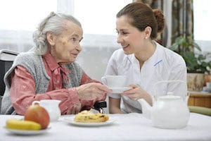 Дом престарелых «Эдем» - питание