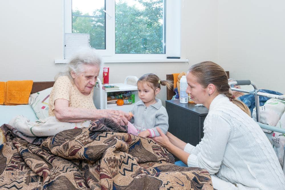 Дом престарелых в Кременчуге